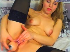 Tube8 - girl stripping and fin...