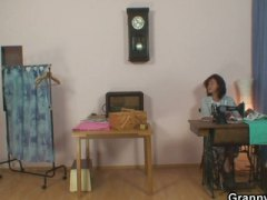 Keez Movies - Sewing granny takes he...