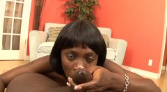 Black slut gives head ... from Alpha Porno