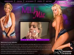 Hot MILF gone wild wit...