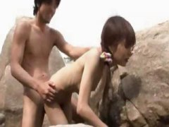 Nuvid - Skinny Asian teen fuck...
