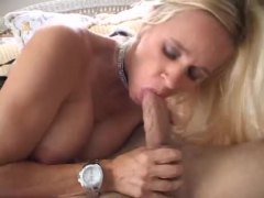 Blonde in wicked hot l...