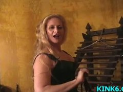 Nipple torture for tha...