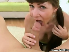 Hot and horny milf in ...