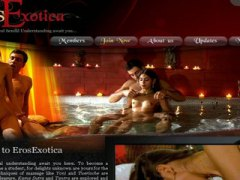 Erotic bath and sensua...
