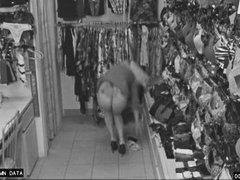 Stole Panties In Store