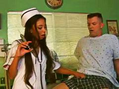 Dirty petite nurse wan... from Alpha Porno