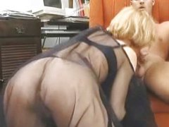 Cum on her silky veil from Redtube