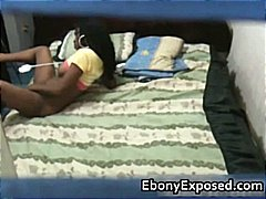 Spying my black teen n...
