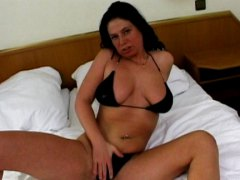 Solo girl masturbation