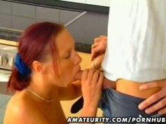 Amateur girlfriend blo...