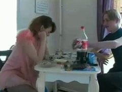 Naughty Russian Mom wi...