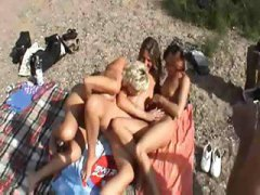Nuvid - Three German Wives Hav...