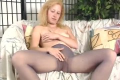 Pretty blonde teases s... from Alpha Porno