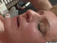 Horny guy drills his G...