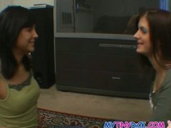 Skinny college chicks ... from Keez Movies