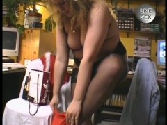 Big hot woman fucks he...