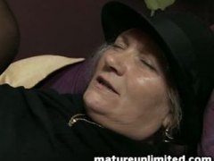 Great mature woman get...