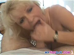 Busty blonde mom knows...