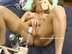Teen blonde with round...