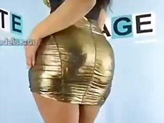 mariela in gold from PornHub
