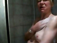 Wife taking a shower from Xhamster