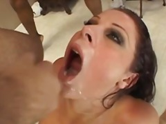 Guys blow loads on Gia...