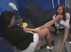 Foot fetish show from ...