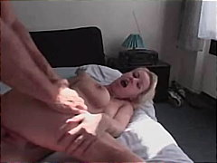 Hot blonde with big br... from PornHub