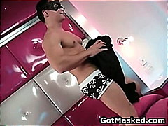 Amazing gay stud strip...