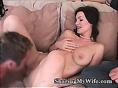 Hungry Wife Feeds On N... from H2porn