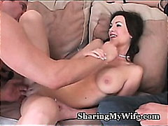 Hungry Wife Feeds On N...