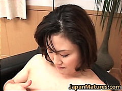 Hot mature Asian woman...