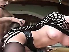 Fishnet Tramp Thrashed