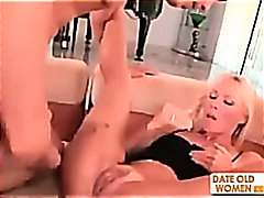 Busty blond mature MIL... from H2porn