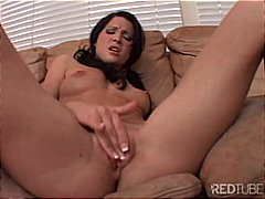 Rebeca's tight pussy g...