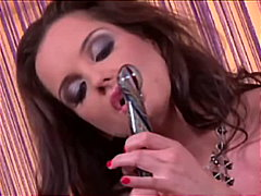 Redtube - Sandra Shine playing w...