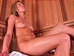 Slutty blonde gets fuc...