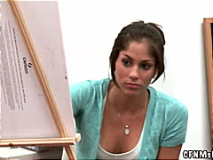 Redtube - Nude painting