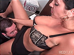 Pleasure before business from Redtube