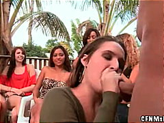 Redtube - Babe uses cum as face ...