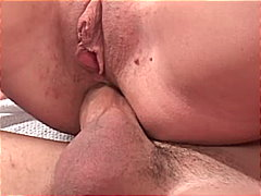 Wet anal stuffing from Redtube