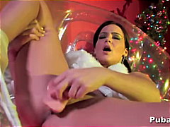 Xmas dildoing session