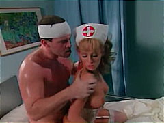 Nurse fulfills her fuc...