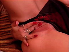 Curly lady shagging from Redtube