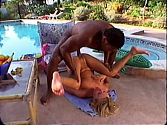 Hot blond pool babe na... from Redtube