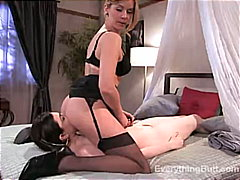 Mistress shows her the... from Redtube