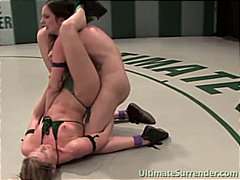 Lesbian fighters love ... from Redtube