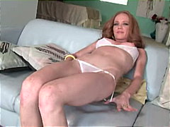 Horny redhead doing cl... from Redtube