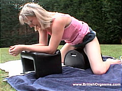 Babe testing new toys from Redtube